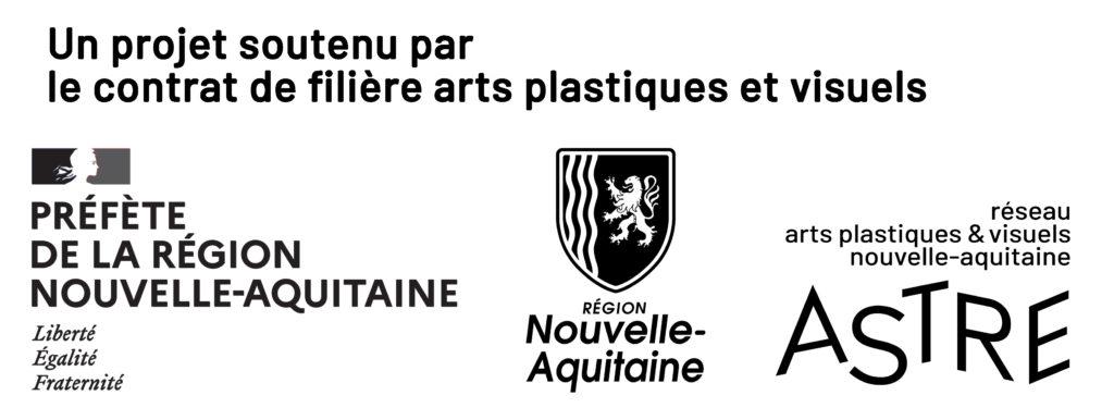 Un projet soutenu par le contrat de filière arts plastiques et visuels Nouvelle-Aquitaine